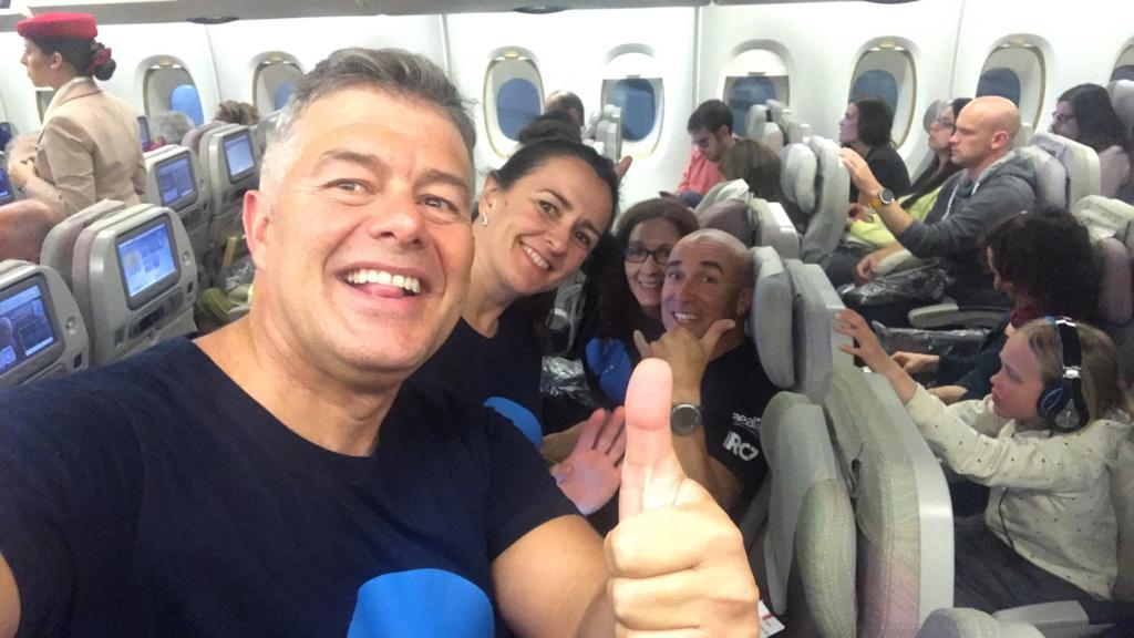 Avión con destino a Auckland